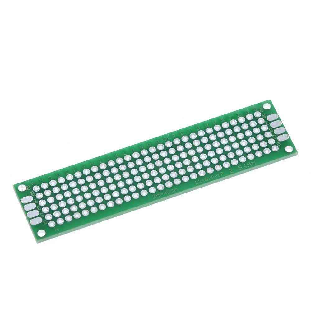 Green Plate Double Side Copper Prototype Pcb Universal Board