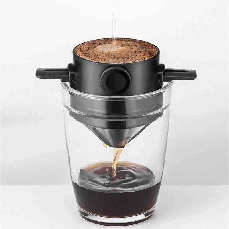 Foldable Coffee Filter For Office Home Travelling