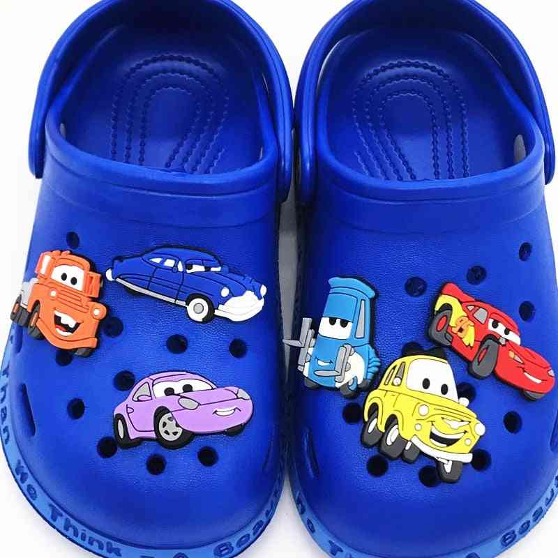 Cartoon Transportation Traffic Toy Bus For Wristbands Shoes