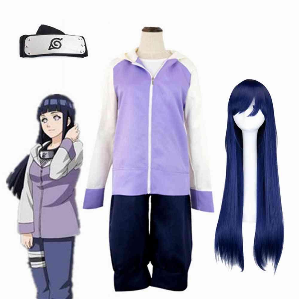 Anime Hyuuga Hinata Generation Jacket Pants