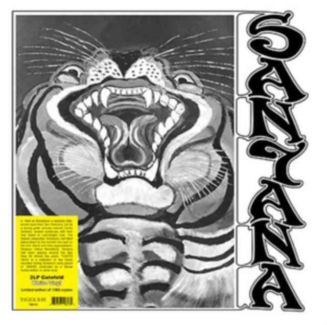 Santana Lp - Tiger's Head (white Vinyl)