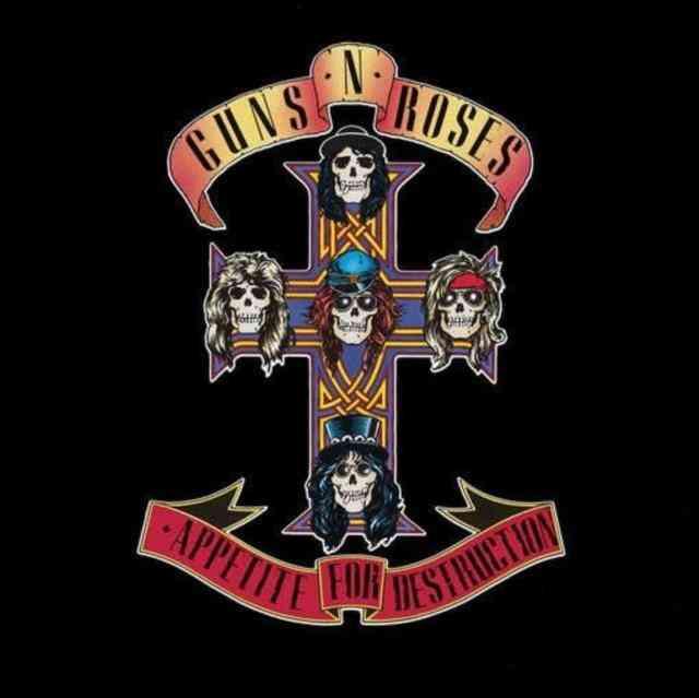 Guns N' Roses Lp - Appetite For Destruction
