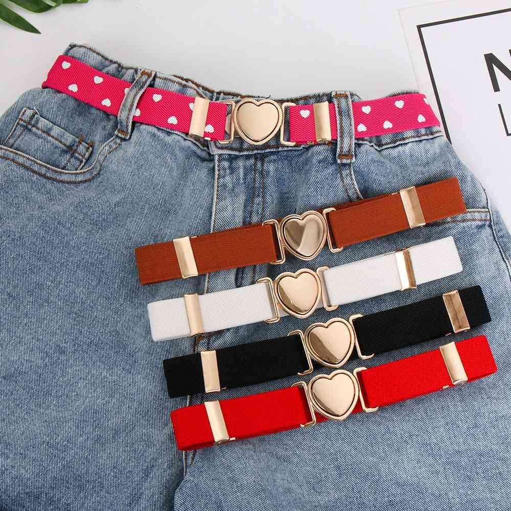 Elastic Stretch Jeans Pants Dresses Belts