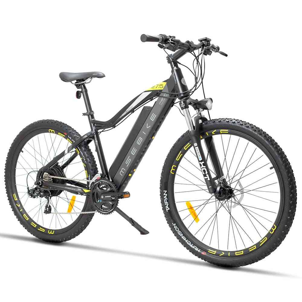 27.5 Inch Electric Mountain Bike Stealth Lithium Battery Bicycle Adult Travel Speed Electric Bike 400w Emtb High Quality Luxury
