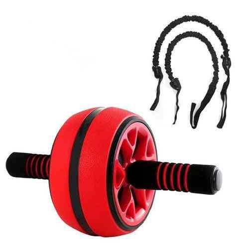 Dmar Silent Tpr Abdominal Wheel Roller Trainer Fitness Equipment Gym