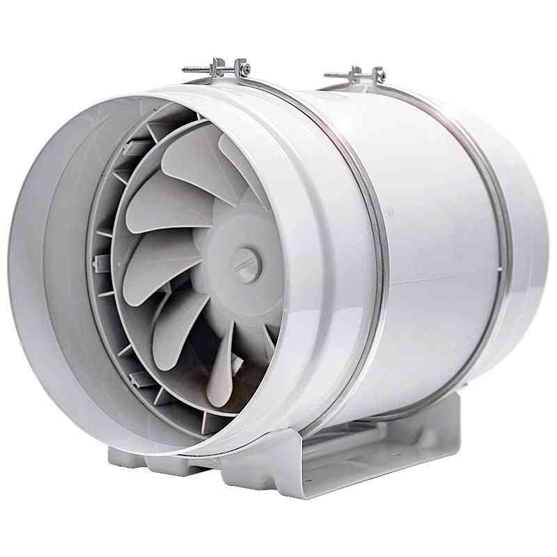 Duct Blower Fan Ventilating Ventilation Channel Pipe Exhaust Air Extractor