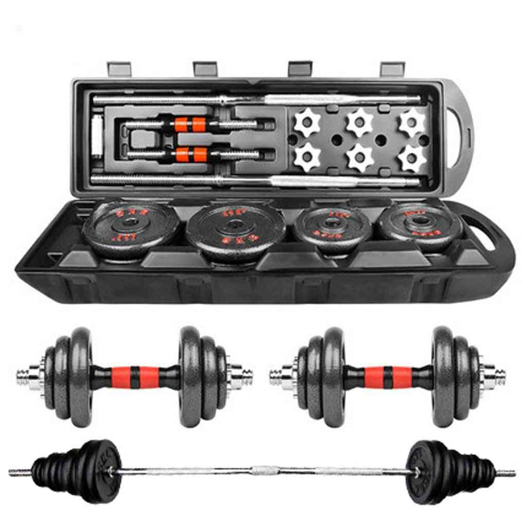 Adjustable Weight Dumbbell Set, Free Weight Set With Connecting Rod