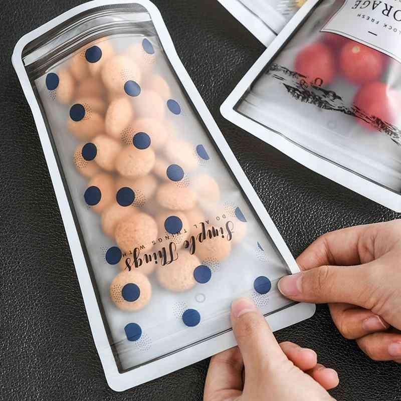 Portable Transparent Sealed Bag