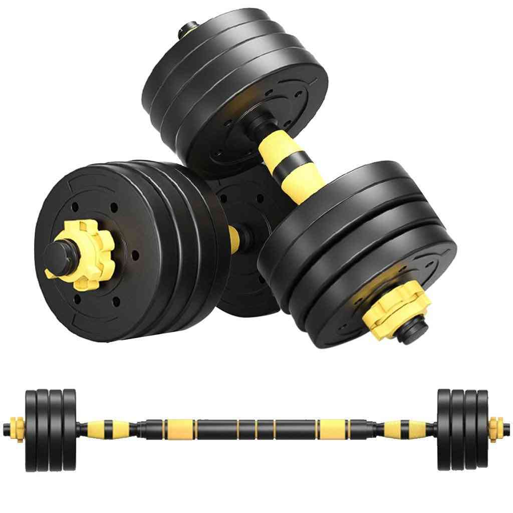 Adjustable Weights Dumbbells Set, Free Weights Set With Connecting Rod