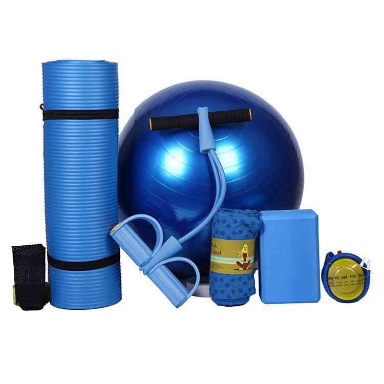 Beginner Yoga Mat Five Piece Set Of Fitness Equipment