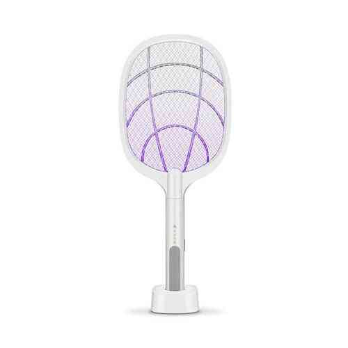 3000v Electric Mosquito Killer With Uv Lamp Usb 1200mah Rechargeable