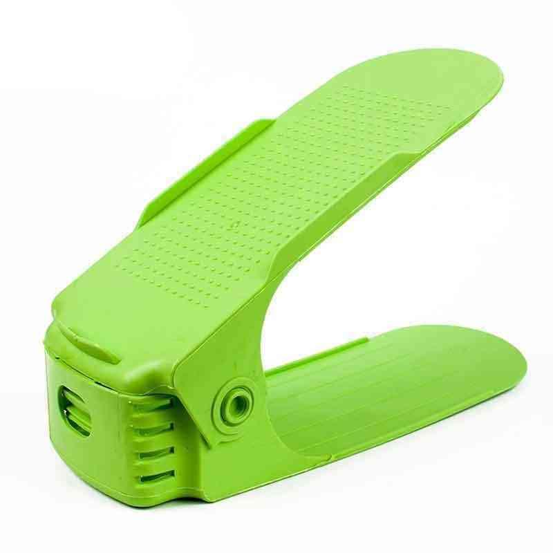 10pcs Durable Adjustable Shoe Organizer Footwear Support