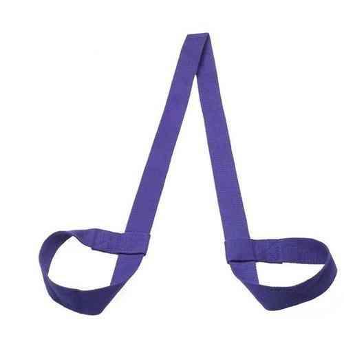 Cotton Durable Yoga Belt Adjustable Sports Sling Shoulder Yoga Mat