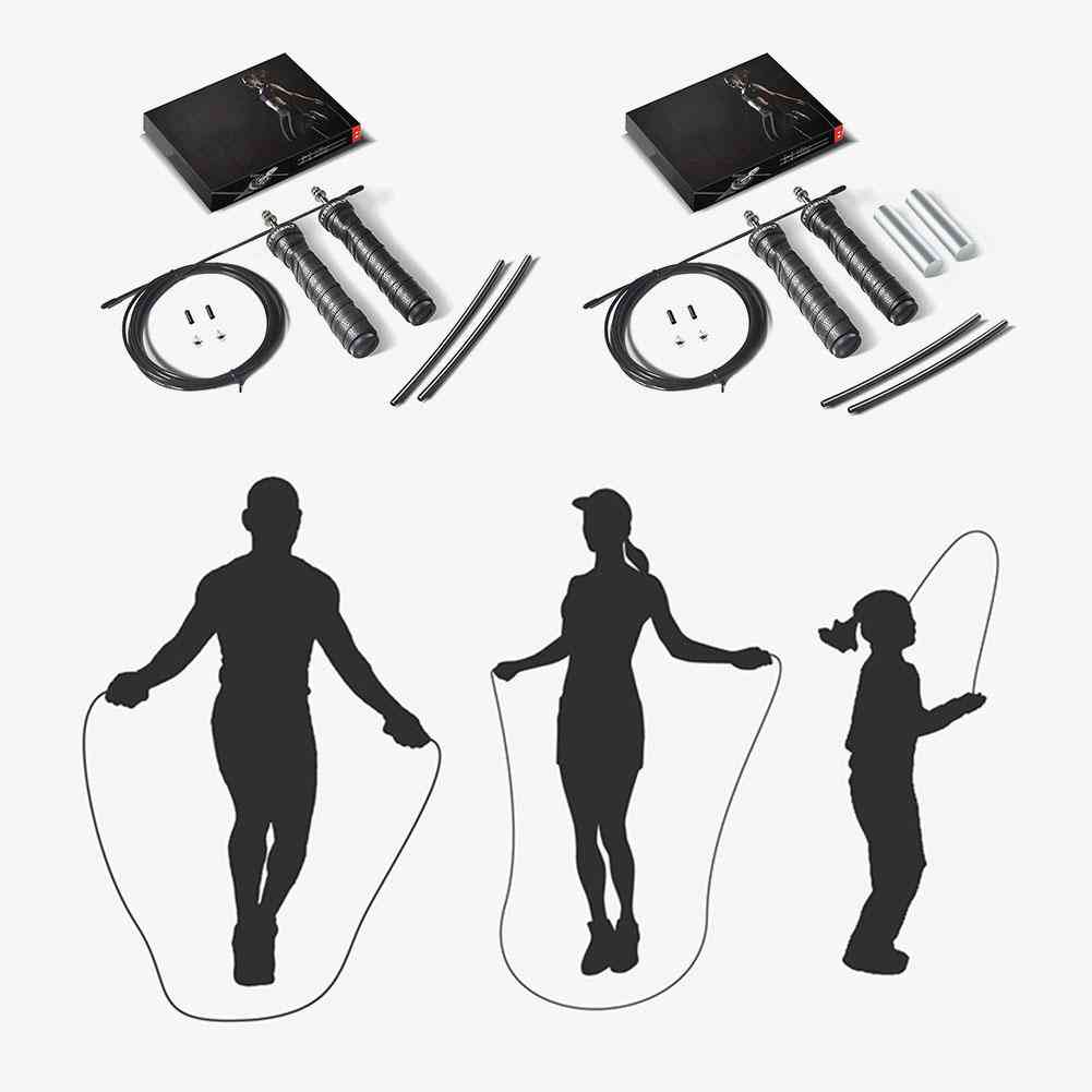 Adjustable Weighted Jump Rope