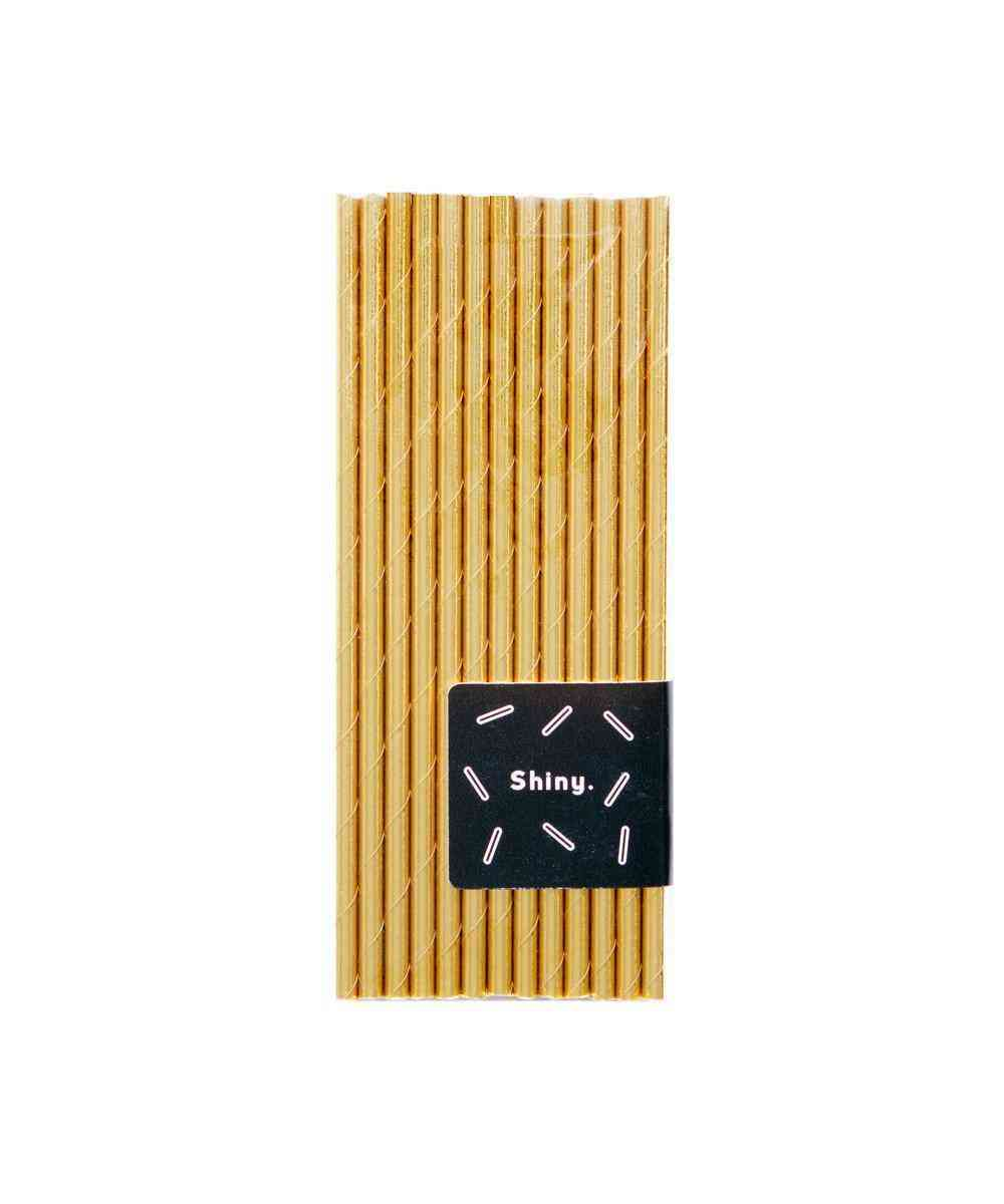 Metallic Paper Straws