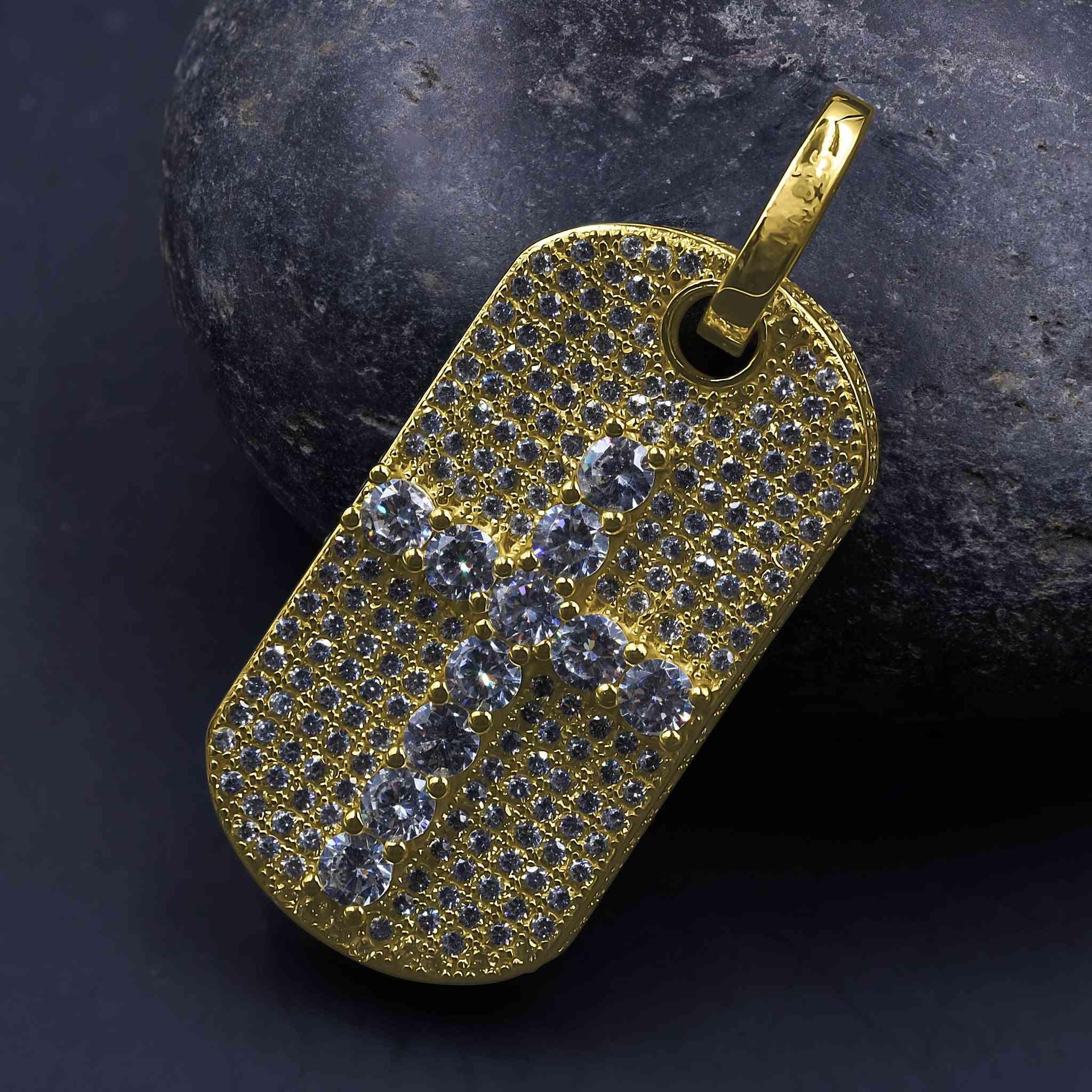 Autarchic Silver Pendant | 9213012