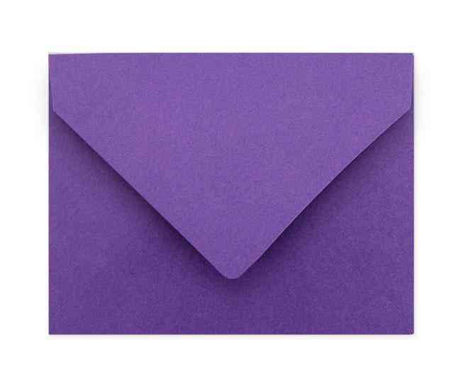 A2 Violet Envelopes (soft Texture)
