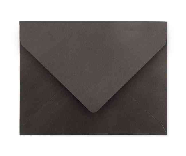 A2 Black Envelopes (soft Texture)