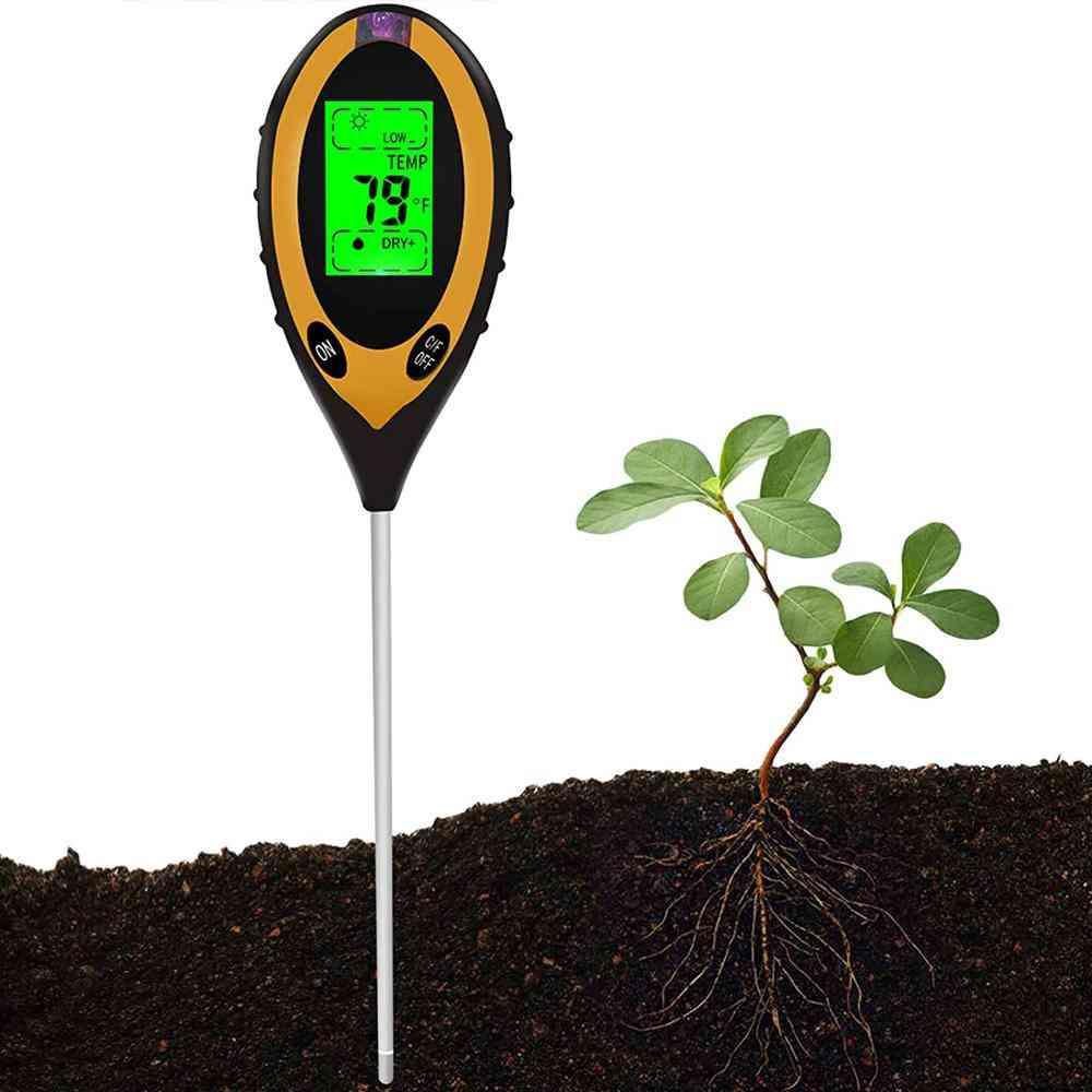 4-in-1 Soil Moisture Meter Tester Gardening Tool Tester Kits Sp
