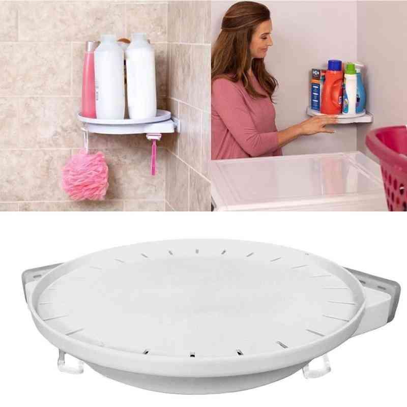 Instahang Rotating Shelf Kitchen Bathroom Storage Shelf