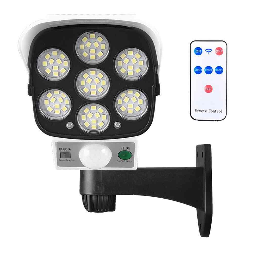 Solar Powered Light Security Simulation Fake Dummy Camera Solar Light