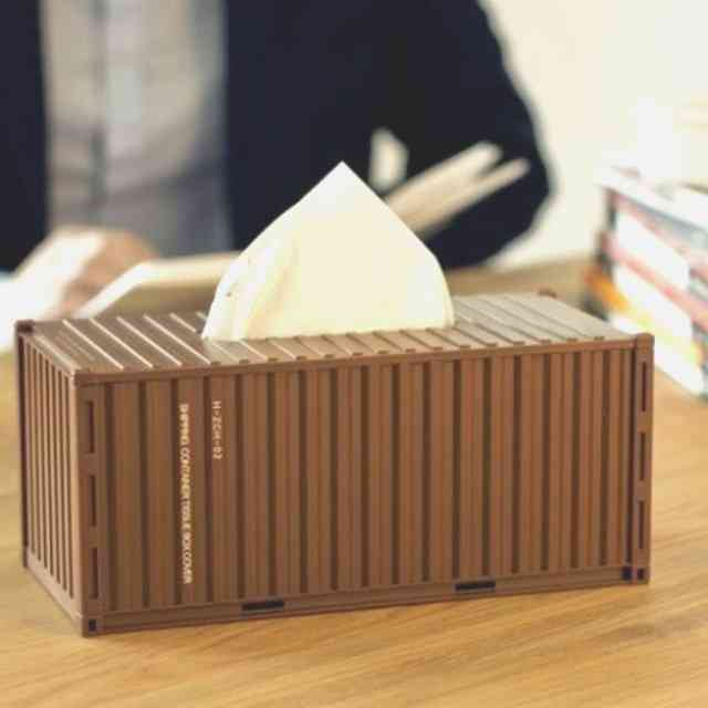 Shipping Container Tissue Box Diy Kit
