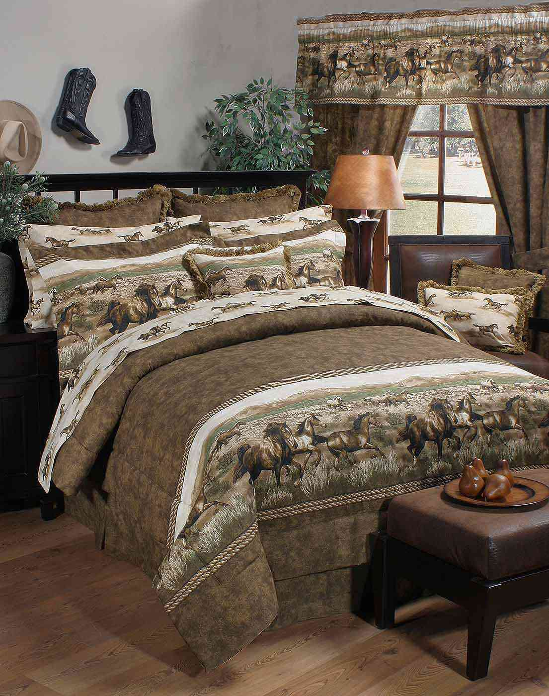 Wild Horses Comforter Set