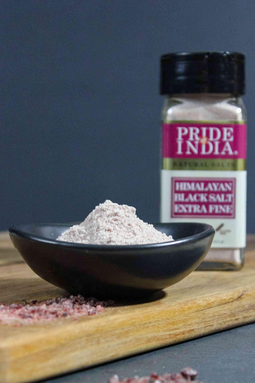 Himalayan Black Rock Salt (kala Namak) - Extra Fine Grind