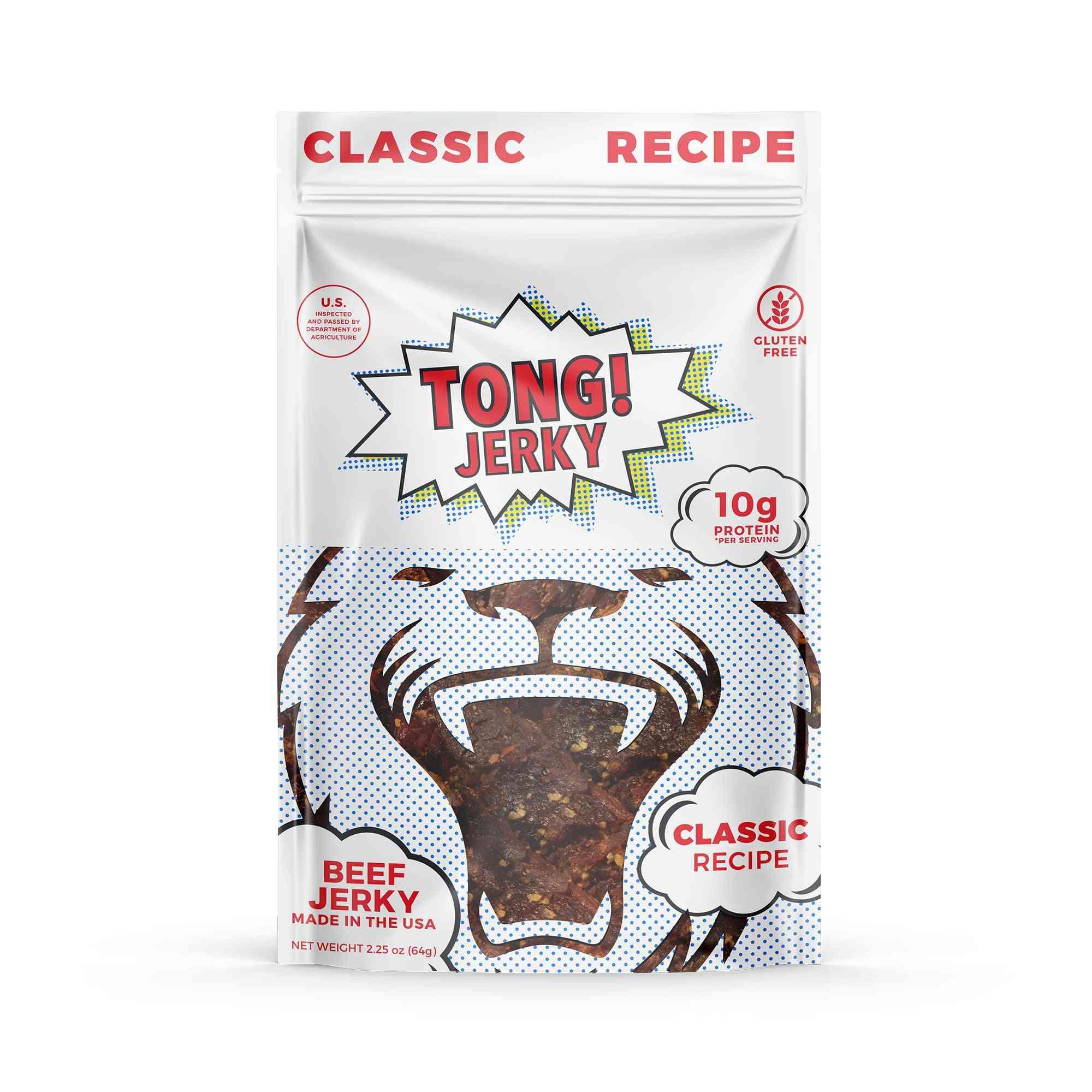 Tong Jerky Classic Recipe