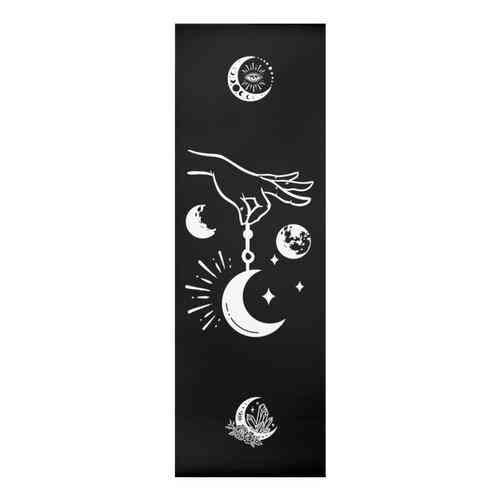 Black Symbolism Yoga Mat
