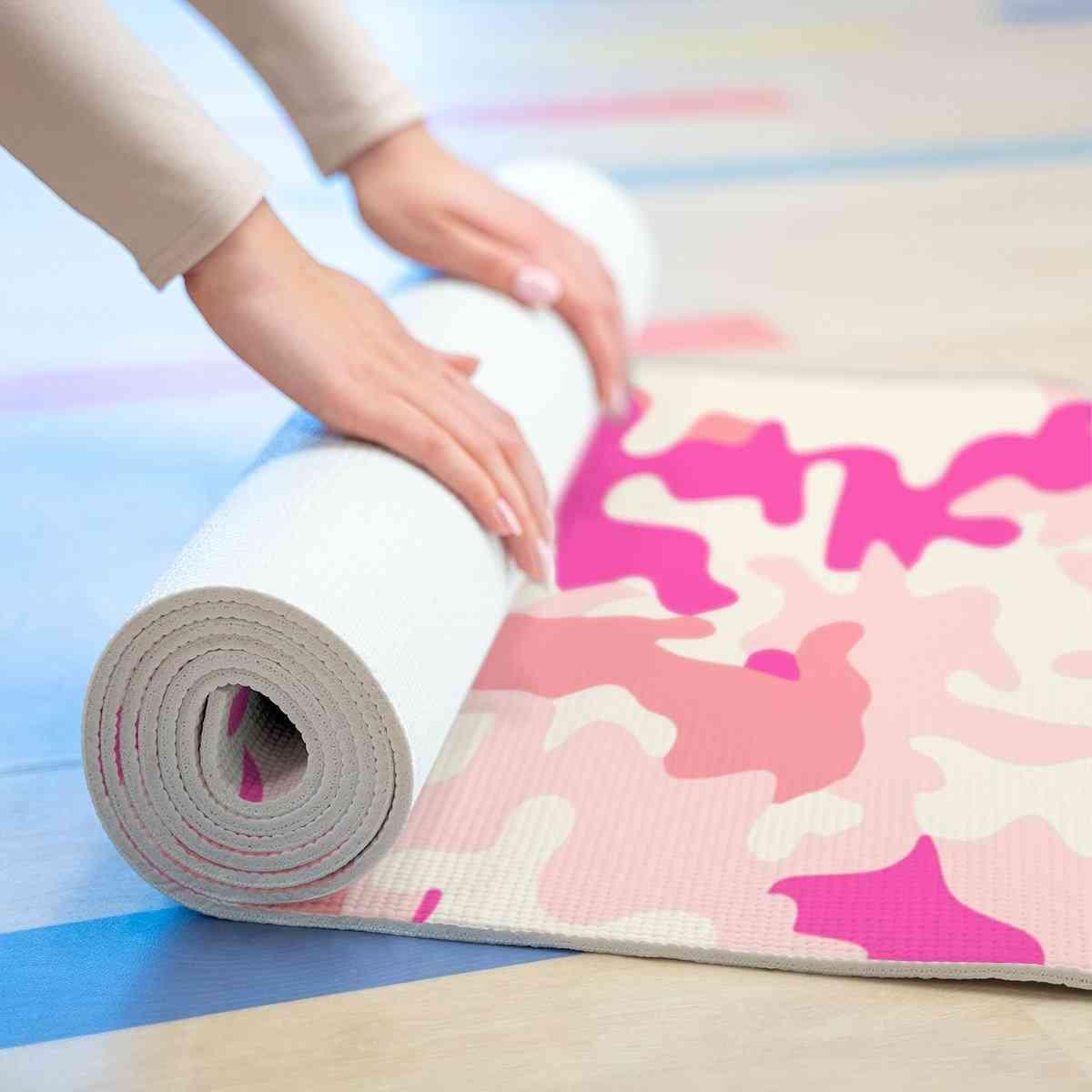 Pink Camo Yoga Mat