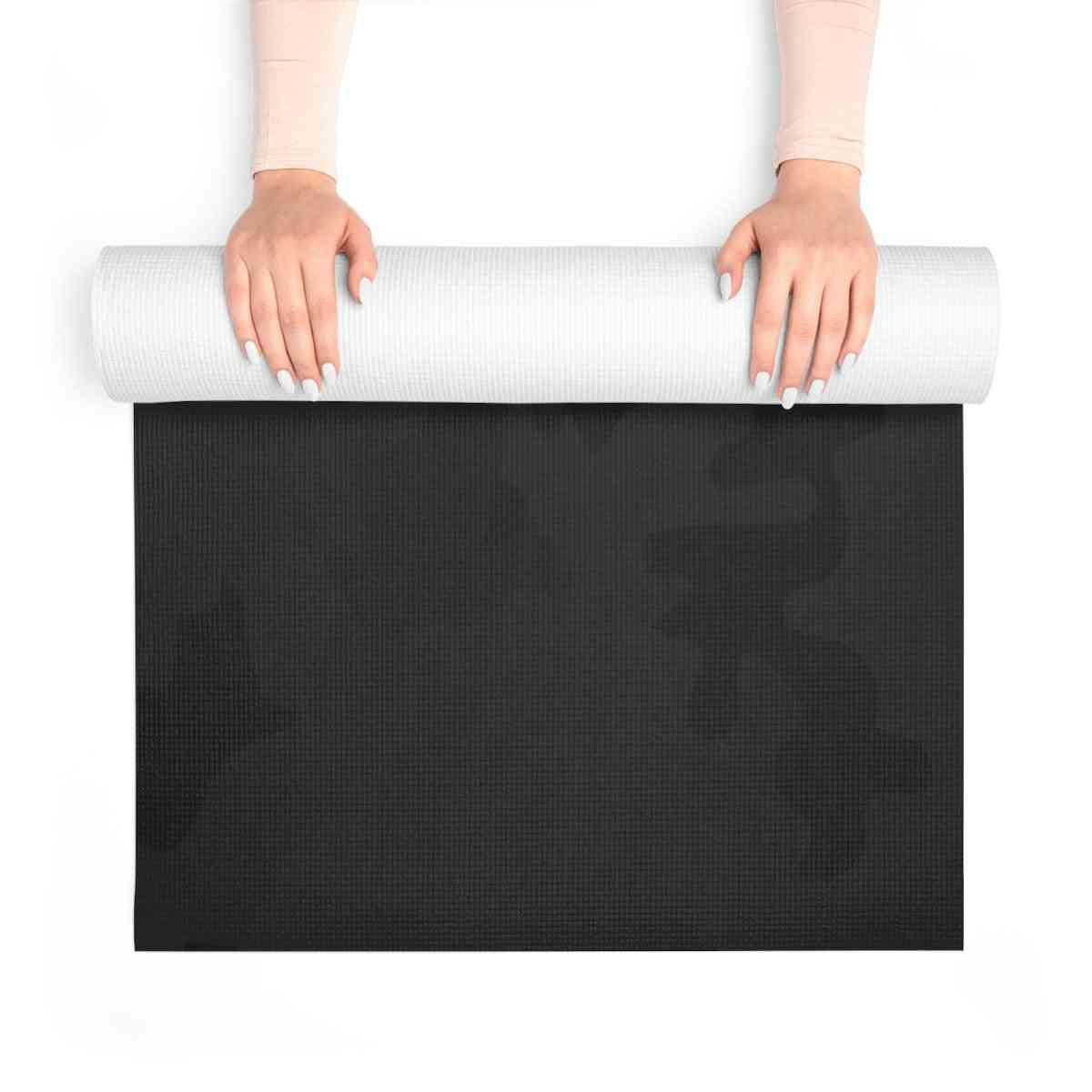 Black Camo Yoga Mat