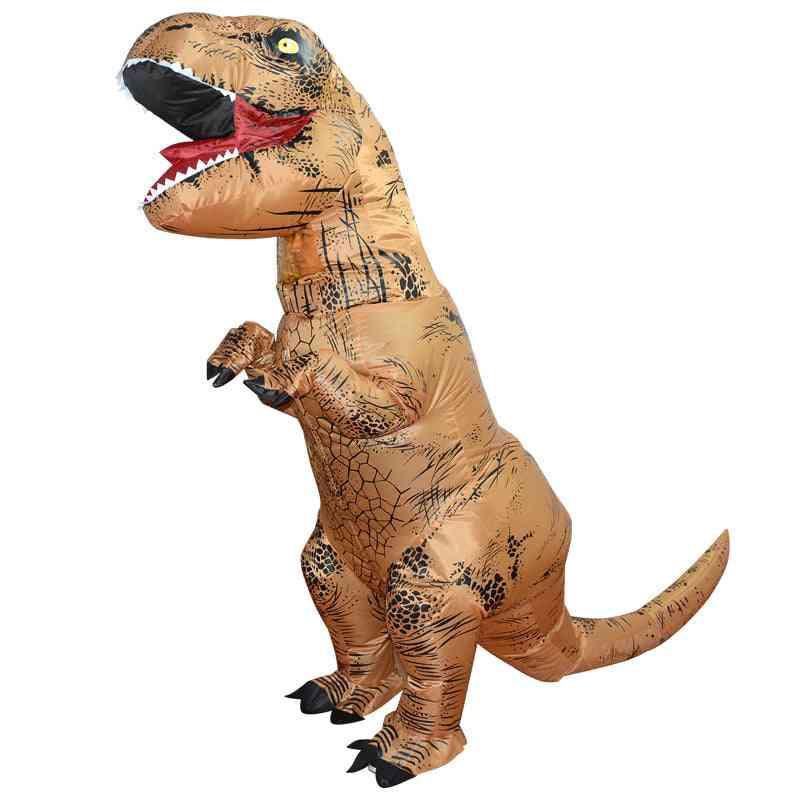 Inflatable Adult T-rex Dinosaur Costume; Unisex