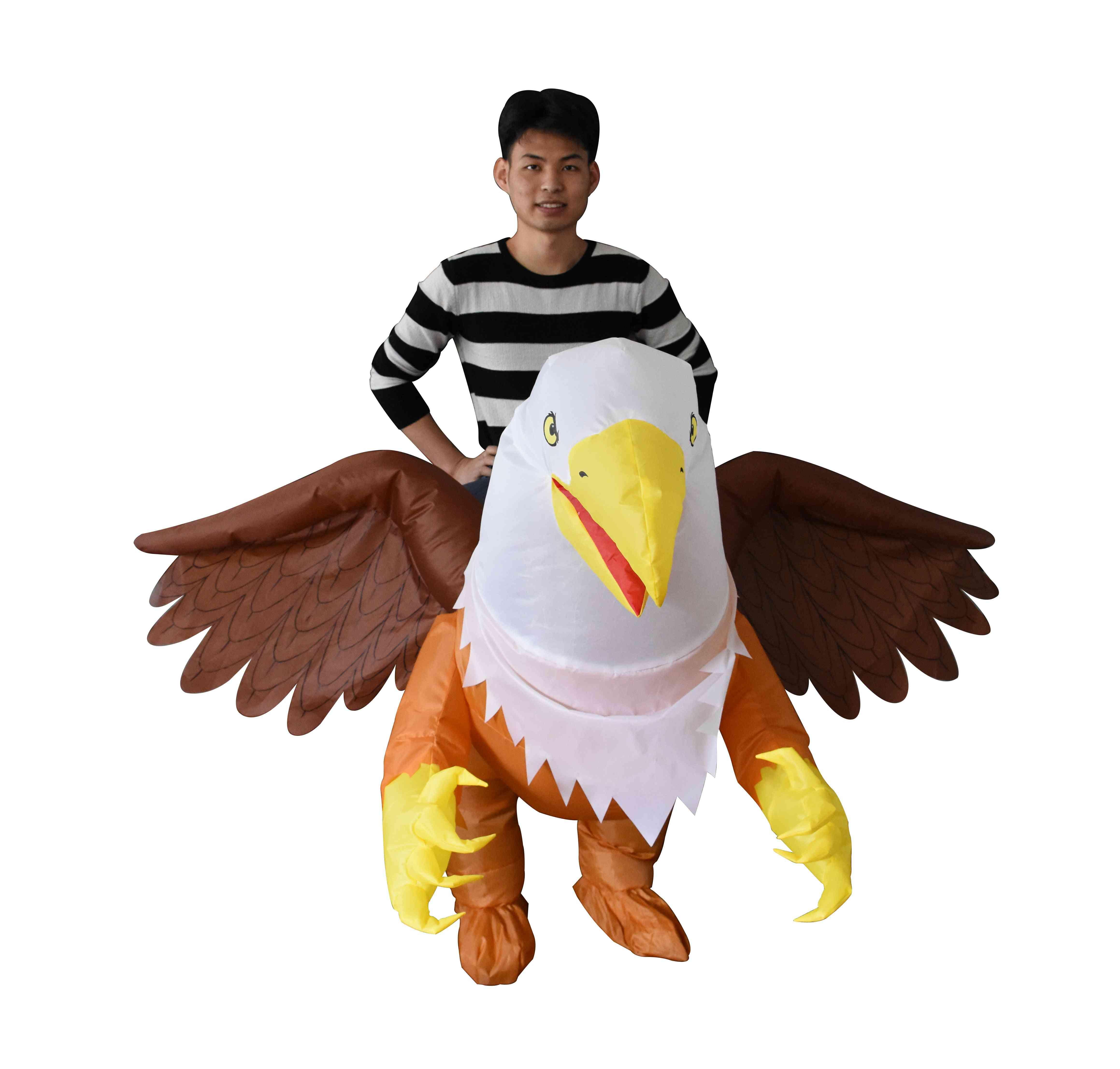 Inflatable Adult Ride-on Hawk Costume; Unisex