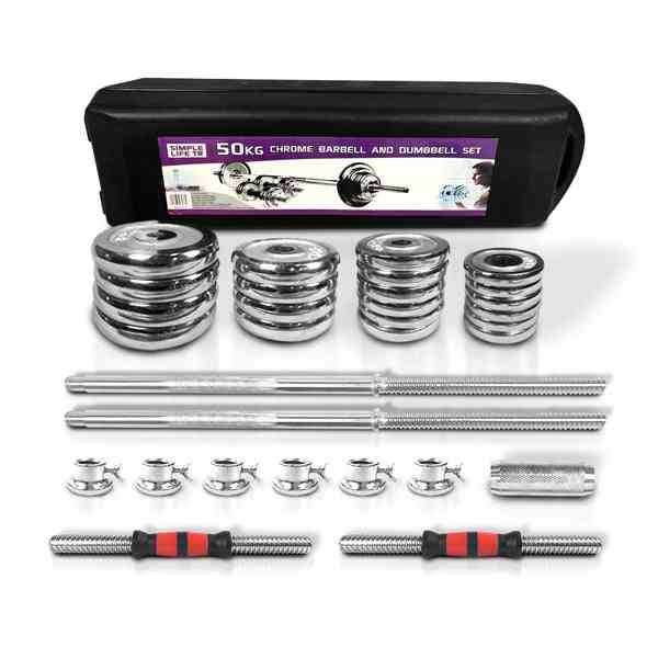 110lbs Adjustable Cast Iron Dumbbell Sets With Portable Packing Box