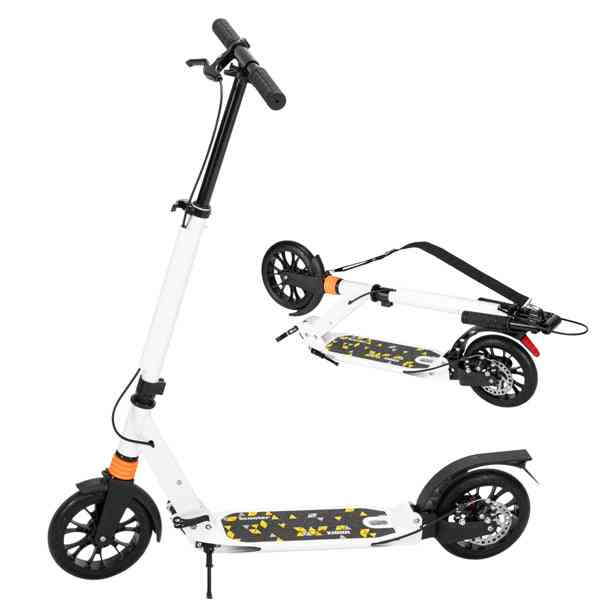 Scooter 3 Height Adjustable Easy Folding Double Shock Absorber