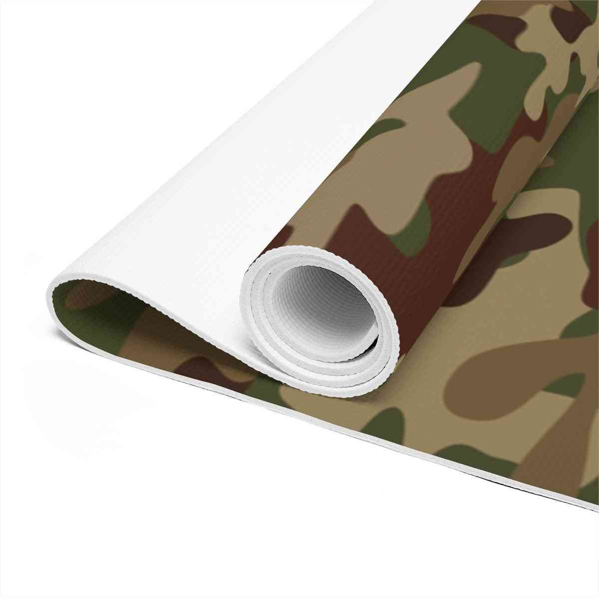 Army Camo Yoga Mat