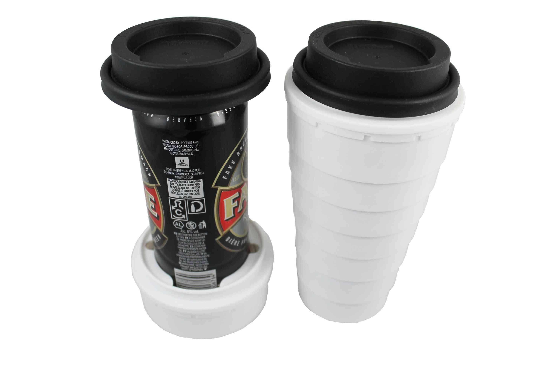4 Trinken Lids And Tall Boy Cups