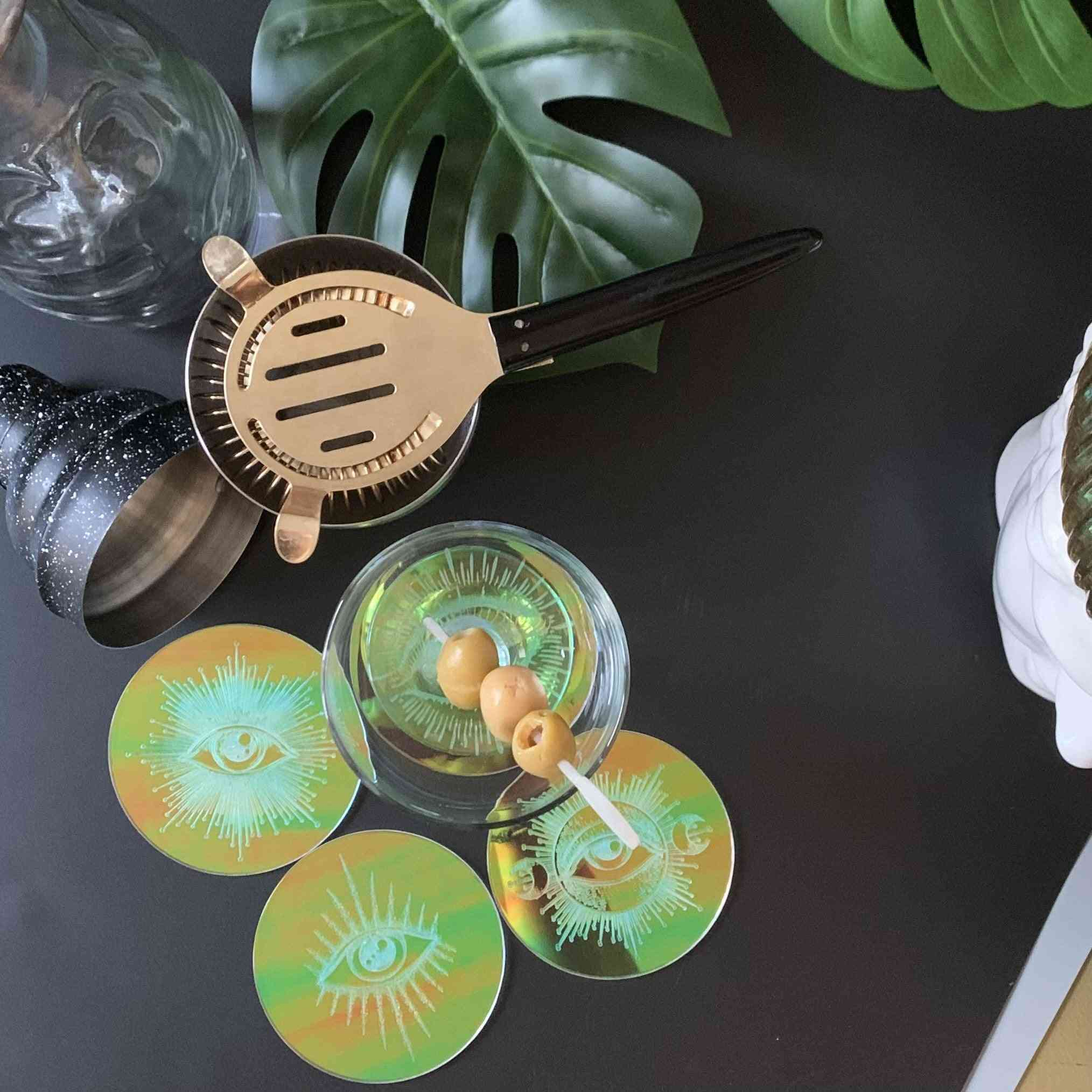 The All Seeing Eyes Coasters