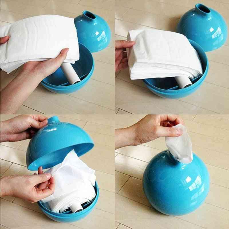 Paper Pot Tissue Holder